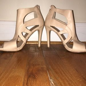 Shoes - Size 8.5 peep toe heels